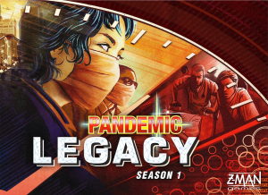 Pandemic Legacy by Matt Leacock and Rob Daviau, Z-Man Games